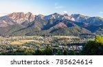 inspiring mountains landscape... | Shutterstock . vector #785624614