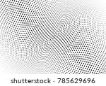 abstract halftone wave dotted... | Shutterstock .eps vector #785629696