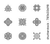 logo design templates. vector... | Shutterstock .eps vector #785633698
