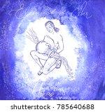 astrology sign aguarius | Shutterstock .eps vector #785640688