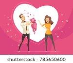 romantic gifts for loving... | Shutterstock . vector #785650600