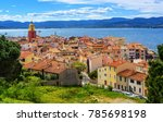 colorful historical old town of ...   Shutterstock . vector #785698198