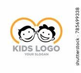 kids logo stock images | Shutterstock .eps vector #785699338