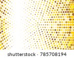 abstract futuristic halftone... | Shutterstock .eps vector #785708194