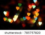 Valentine's Day. Bokeh Lights ...