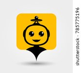 support service bot. vector... | Shutterstock .eps vector #785775196