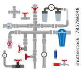 vector collection of detailed...   Shutterstock .eps vector #785786248