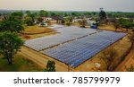 ground mounted solar power... | Shutterstock . vector #785799979