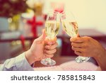 christmas and happy new year... | Shutterstock . vector #785815843