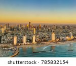 aerial  sunset view of... | Shutterstock . vector #785832154