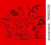 "vector image ""design for the... | Shutterstock .eps vector #785832250"
