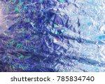 shimmering iridescent...   Shutterstock . vector #785834740