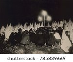 Ku Klux Klan Gathered Within...