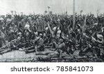 World War 1. British Soldiers...