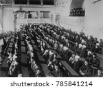 ottoman parliament in session... | Shutterstock . vector #785841214