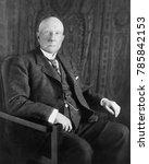 Small photo of John D. Rockefeller in 1909 portrait by Lawrence P. Ames, N.Y.