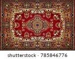 carpet. photo wallpaper for... | Shutterstock . vector #785846776