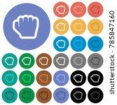 grab cursor multi colored flat... | Shutterstock .eps vector #785847160