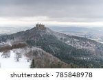 view on hohenzollern castle... | Shutterstock . vector #785848978