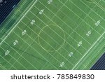 angle aerial view of a high... | Shutterstock . vector #785849830