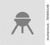 grill vector icon eps 10.... | Shutterstock .eps vector #785850148
