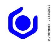 logo for association  happy... | Shutterstock .eps vector #785860813