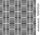 seamless pattern with black... | Shutterstock .eps vector #785870314