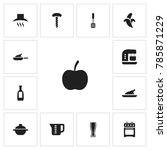 set of 13 editable cooking...