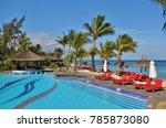 mauritius  2 nov 2017  view of...   Shutterstock . vector #785873080