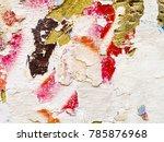 artistic graffiti abstract... | Shutterstock . vector #785876968