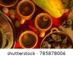 traditional guatemalan hot... | Shutterstock . vector #785878006