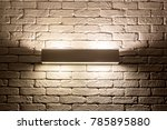 lamp on the wall | Shutterstock . vector #785895880