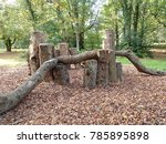 natural play area | Shutterstock . vector #785895898