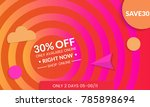 abstract geometric background... | Shutterstock .eps vector #785898694
