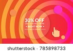 abstract geometric background... | Shutterstock .eps vector #785898733