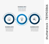 business infographic elements   Shutterstock .eps vector #785903866