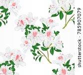 seamless texture white... | Shutterstock .eps vector #785907079