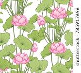 seamless pattern  background... | Shutterstock .eps vector #785917696