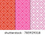 Geometric Backgrounds. Red...