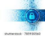 protection concept. protect... | Shutterstock .eps vector #785930560