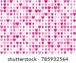 love seamless background with... | Shutterstock .eps vector #785932564