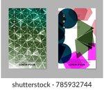 creative business brochure cover | Shutterstock .eps vector #785932744