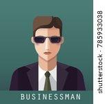 icon of businessman | Shutterstock . vector #785933038