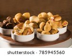 mixed brazilian snack on the... | Shutterstock . vector #785945560