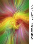 rainbow colored abstract... | Shutterstock . vector #785948473