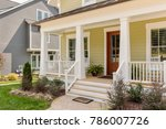 exterior view of a house | Shutterstock . vector #786007726