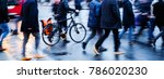 motion blur picture of people... | Shutterstock . vector #786020230