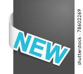 sign   new. vector illustration. | Shutterstock .eps vector #78602269