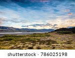 picturesque landscape of a... | Shutterstock . vector #786025198