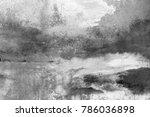 wall painting. handmade.... | Shutterstock . vector #786036898